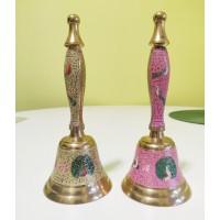 Дзвіночок настільний кольоровий індійський