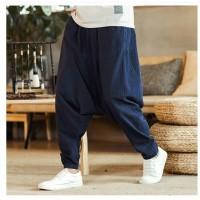 Жіночі брюки аладіни натуральні лляні