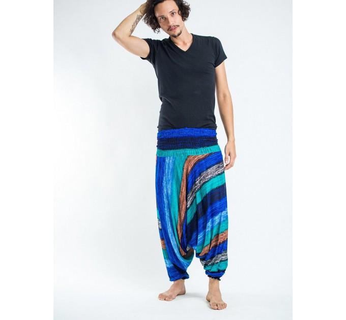 Чоловічі штани алладіни для йоги східні