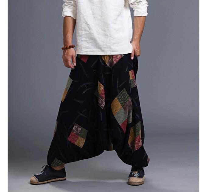 Чоловічі штани стиль хіпі
