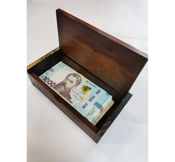 Шкатулка тайська для грошей