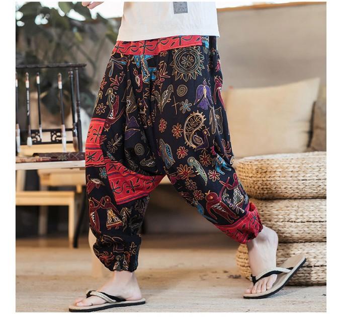 Індійські штани чоловічі широкі зручні