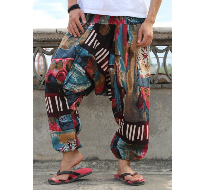 Індійські штани афгані модні чоловічі