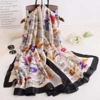 Шовковий шарф хустка в стилі Прованс