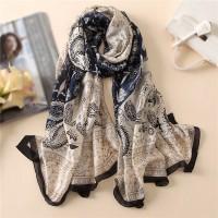 Шовковий шарф класичний індійський стиль