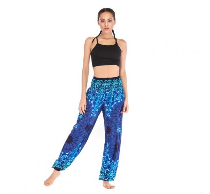 Жіночі штани блумерси літні для йоги і відпочинку