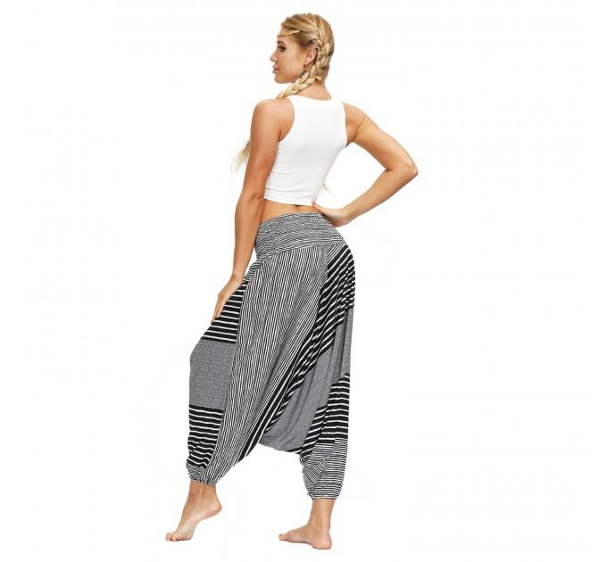 Жіночі штани шаровари богемні сірі