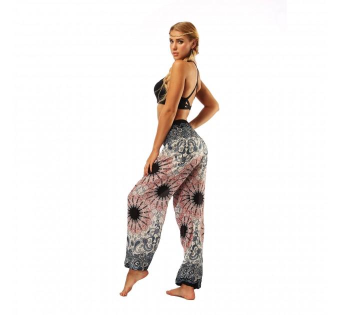 Жіночі штани блумерси літні вільні бохо